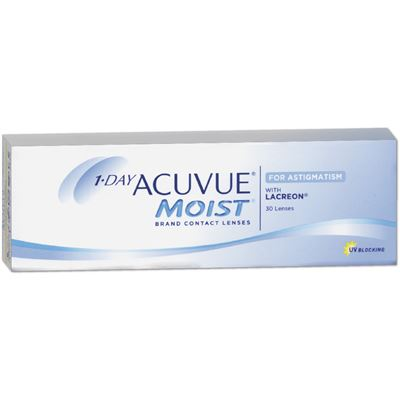 1-Day Acuvue Moist for Astigmatism (Toric)  | 30er Box