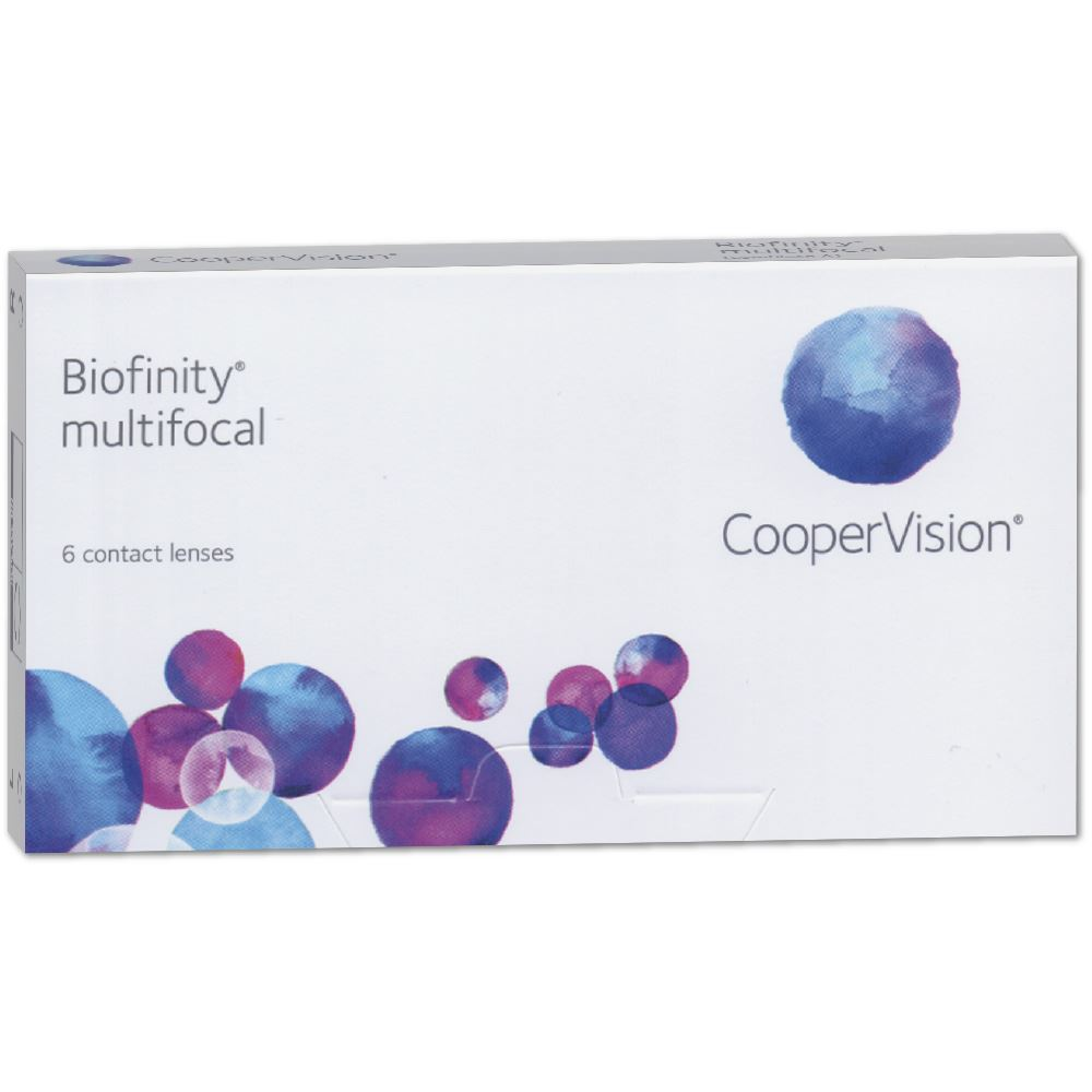 Biofinity Multifocal | 6er Box | ADD +1,50 N