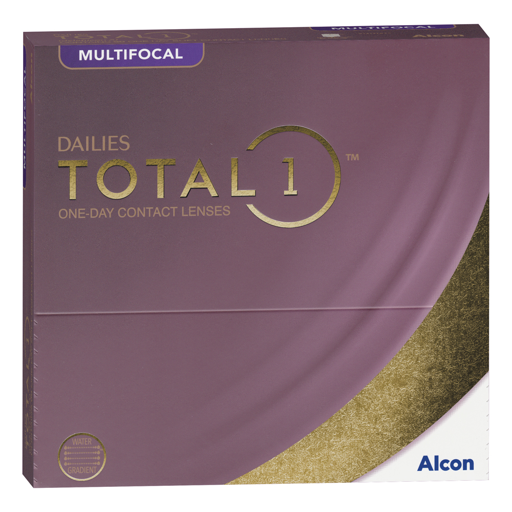 Dailies Total 1 Multifocal | 90er Box | Addition MED(MAX ADD+2,00)