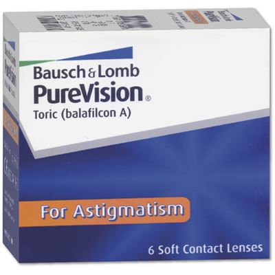 Pure Vision for Astigmatism (Toric) | 6er Box