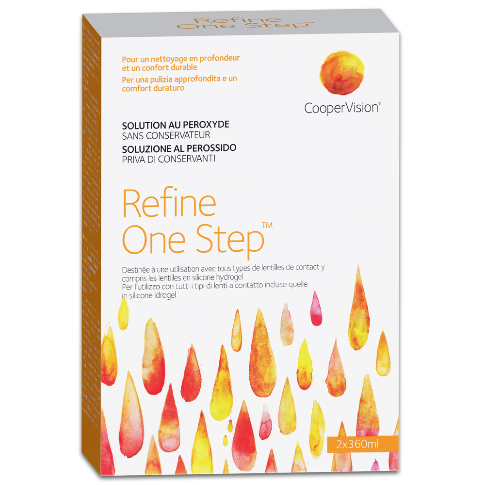 Refine One Step| Doppelpack